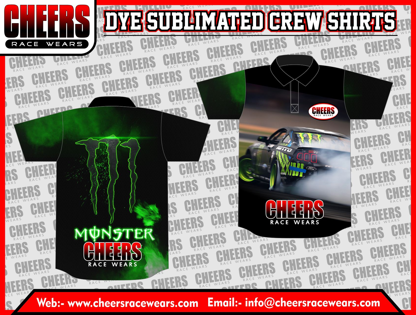 Pit Crew Shirt Cheers Apparel